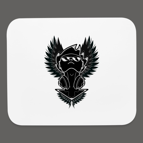 Winged Dj - Mouse pad Horizontal
