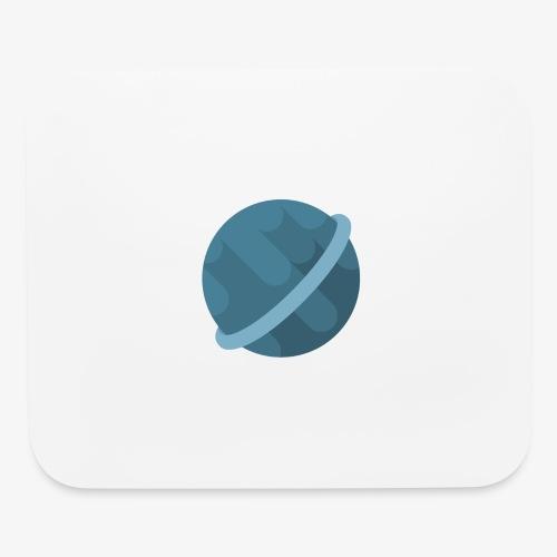 Tiny Blue Planet - Mouse pad Horizontal