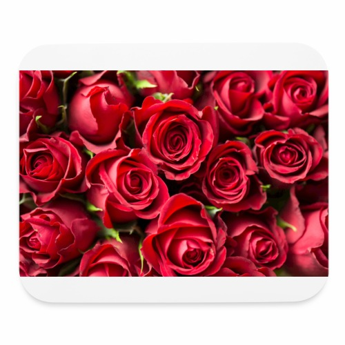 red rose beauty design - Mouse pad Horizontal