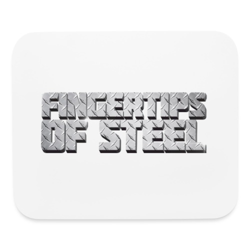 Fingertips of Steel - Mouse pad Horizontal