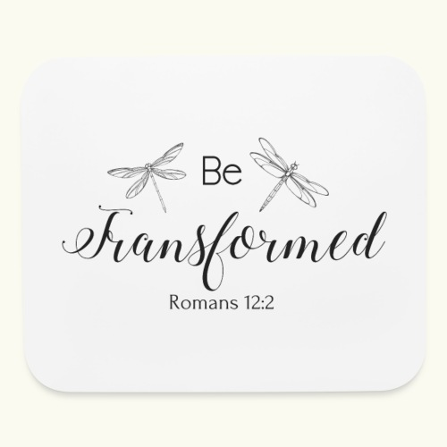 Be Transformed Shop - Mouse pad Horizontal