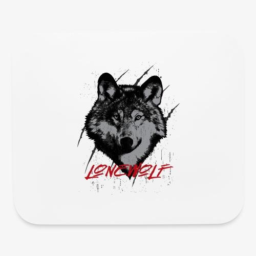 Lone Wolf - Mouse pad Horizontal