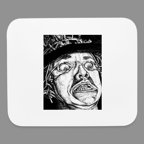 Disgusted - Mouse pad Horizontal