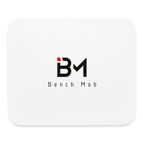 Bench Mob Logo (black) - Mouse pad Horizontal