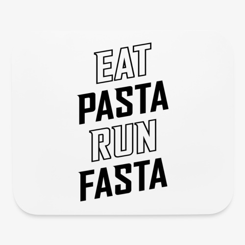 Eat Pasta Run Fasta v2 - Mouse pad Horizontal