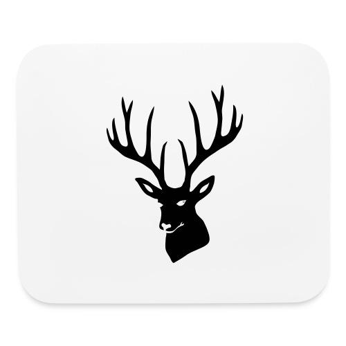 stag night deer buck antler hart cervine elk - Mouse pad Horizontal