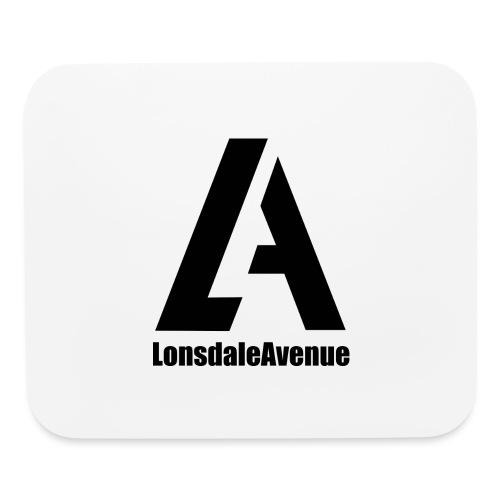 Lonsdale Avenue Logo Black Text - Mouse pad Horizontal