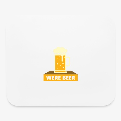 wish you were beer - Mouse pad Horizontal