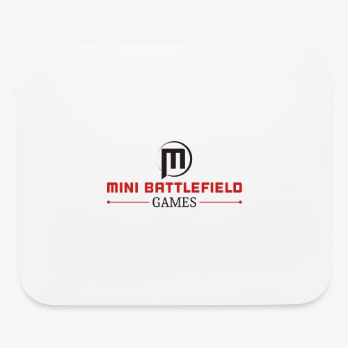 Mini Battlefield Games Logo - Mouse pad Horizontal