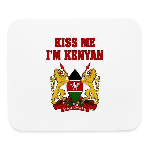 Kiss Me, I'm Kenyan - Mouse pad Horizontal