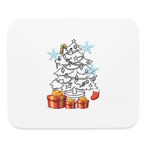 Christmas is here!! - Mouse pad Horizontal