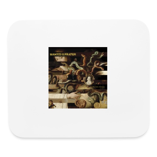 Mantis and the Prayer- Butterflies and Demons - Mouse pad Horizontal