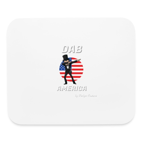 DAB AMERICA WHITE - Mouse pad Horizontal