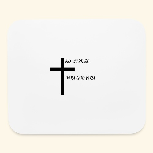 No Worries - Mouse pad Horizontal