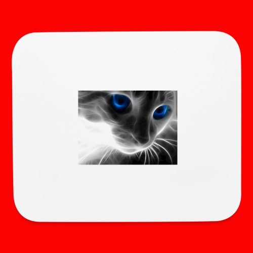 sly cat - Mouse pad Horizontal