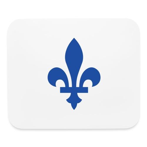 2000px Blue fleur de lis2 png - Mouse pad Horizontal