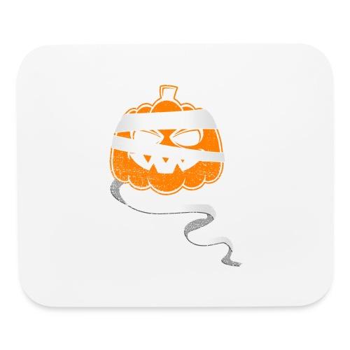 Halloween Bandaged Pumpkin - Mouse pad Horizontal