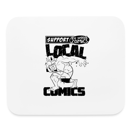 Support Local Comics NDC By Geoff Munn - Mouse pad Horizontal