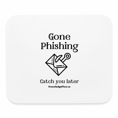 Gone Phishing - Mouse pad Horizontal