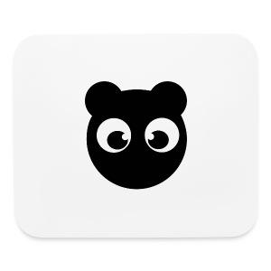 BearBun - Black - Mouse pad Horizontal