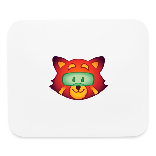 Foxr Head (no logo) - Mouse pad Horizontal