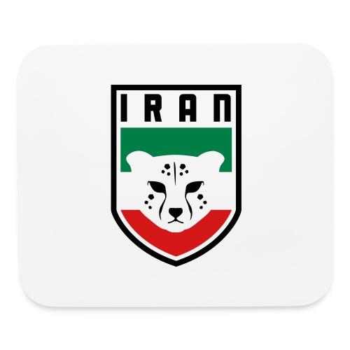 Iran Cheetah Badge - Mouse pad Horizontal