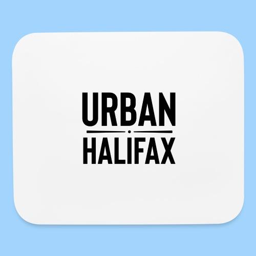 Urban Halifax logo (Black) - Mouse pad Horizontal
