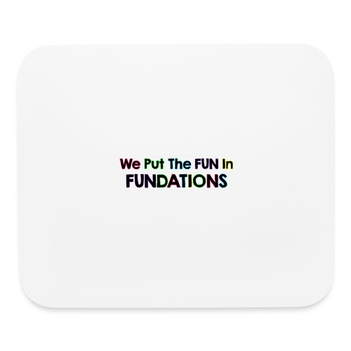 fundations png - Mouse pad Horizontal