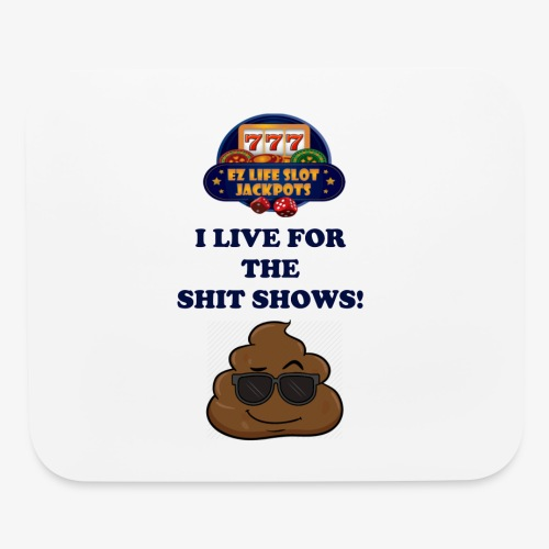 poop show - Mouse pad Horizontal