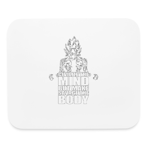 Dbz C Shirt - Mouse pad Horizontal