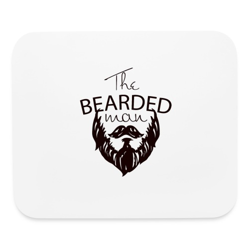 The bearded man - Mouse pad Horizontal