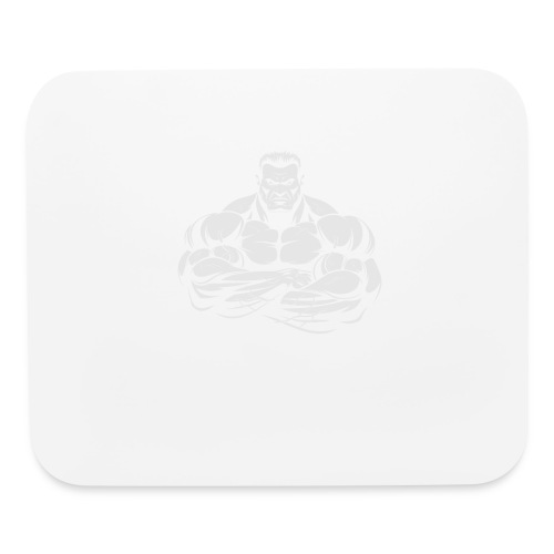 An Angry Bodybuilding Coach - Mouse pad Horizontal