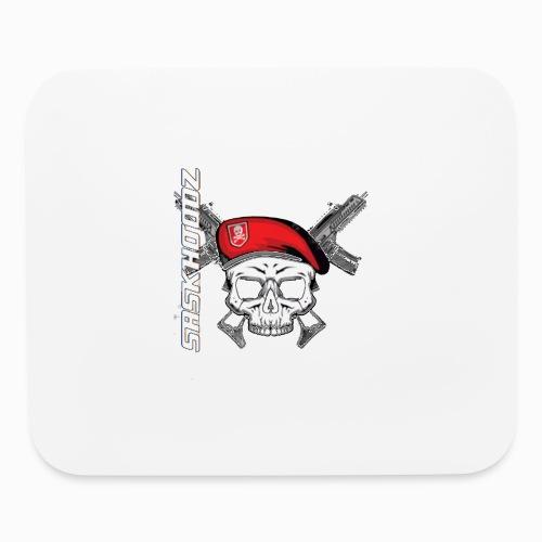 saskhoodz skull - Mouse pad Horizontal