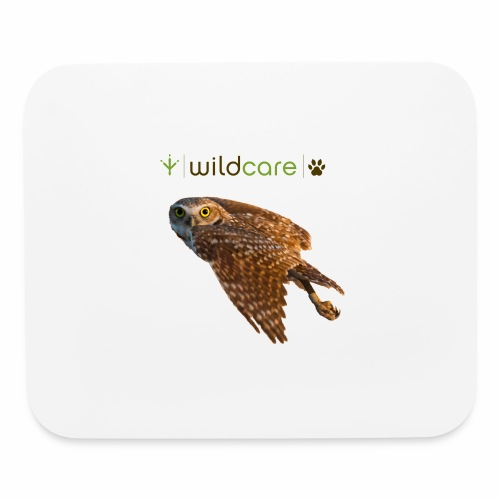Burrowing Owl in Flight - Mouse pad Horizontal