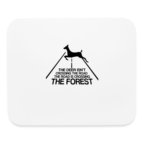 Deer's forest - Mouse pad Horizontal