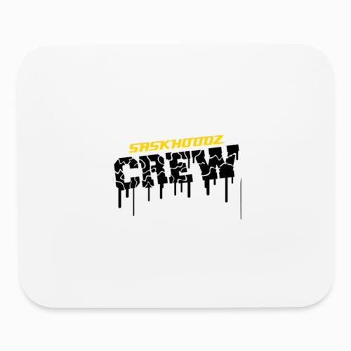 saskhoodz crew - Mouse pad Horizontal
