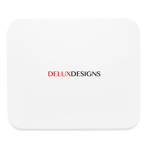 Delux Designs (black) - Mouse pad Horizontal