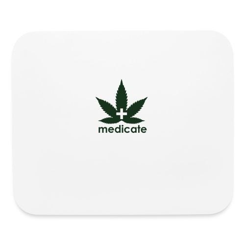 Medicate Supporter - Mouse pad Horizontal