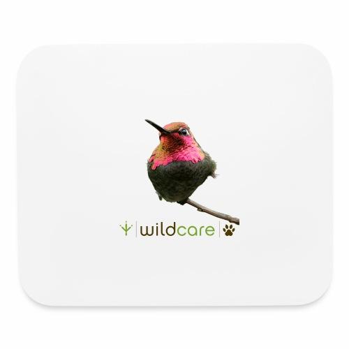 Hummingbird patient at WildCare - Mouse pad Horizontal