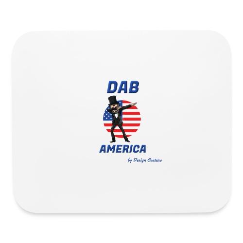 DAB AMERICA BLUE - Mouse pad Horizontal