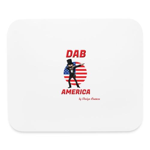DAB AMERICA RED - Mouse pad Horizontal