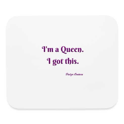 I M A QUEEN PURPLE - Mouse pad Horizontal
