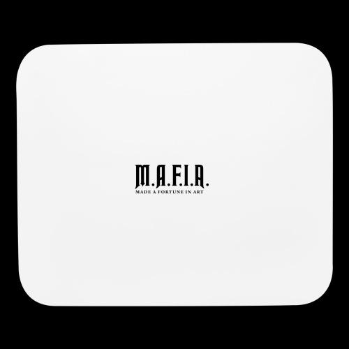 Classic Mafia Logo(White) - Mouse pad Horizontal
