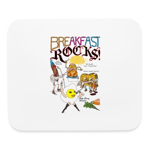 Breakfast Rocks! - Mouse pad Horizontal