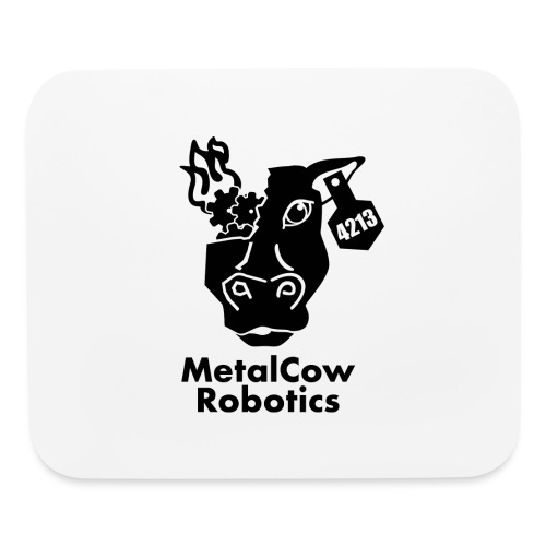 MetalCow Solid - Mouse pad Horizontal