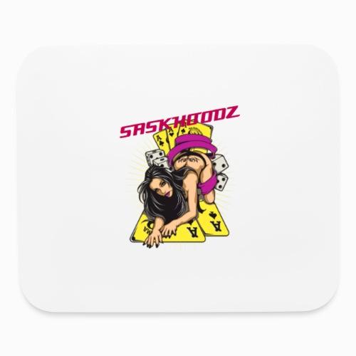saskhoodz girl - Mouse pad Horizontal