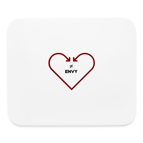 love does not envy - Mouse pad Horizontal