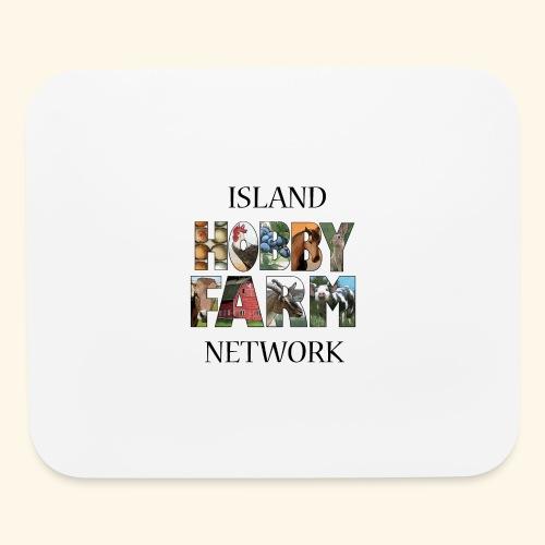 Island Hobby Farm Black Logo - Mouse pad Horizontal