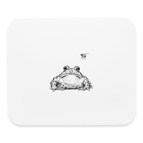 Frog with Fly by Imoya Design - Mouse pad Horizontal