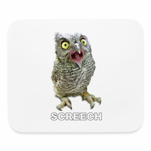 Screech Owl Patient at WildCare - Mouse pad Horizontal